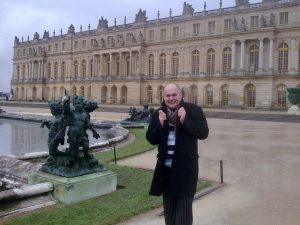 В Версале ...однако, холодно!